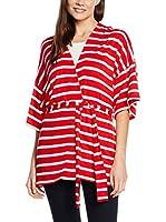 Cortefiel Kimono (Rojo / Crudo)