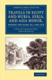 img - for Travels in Egypt and Nubia, Syria, and Asia Minor, during the Years 1817 and 1818 (Cambridge Library Collection - Egyptology) book / textbook / text book