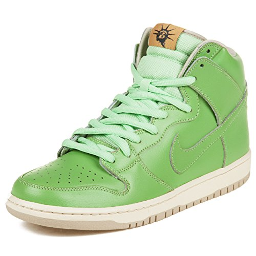 """Nike Mens Dunk High Premium Sb """"Statue Of Liberty"""" Seagrass Synthetic Skateboarding Size 10"""