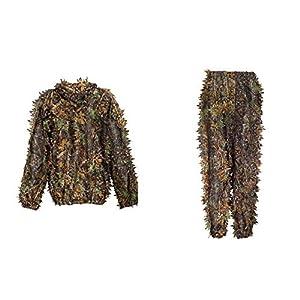 OneTigris La tenue Ghillie de La feuille 3D Camouflage Le vêtement de Jungle pour La chasse
