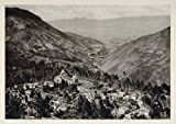 1931 Landscape Valley Mountains Tungurahua Ecuador - Original Photogravure