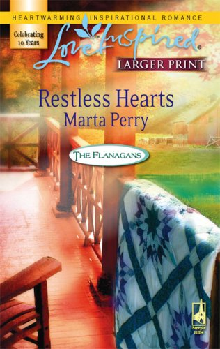 Restless Hearts (Steeple Hill Love Inspired (Large Print))