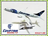 Boeing 737 Egypt Air Aires Metal Plane Model 16cm