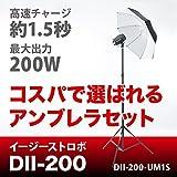 イージーストロボ デリカシー200W アンブレラ基本セット