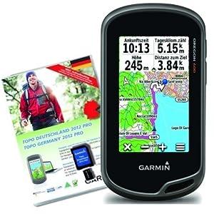Garmin GPS Handgerät Oregon 600 Plus TOPO Deutschland V6 PRO Bundle Micro SD, 020-00179-02