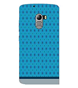 PrintDhaba Circular Pattern D-1518 Back Case Cover for LENOVO K4 NOTE A7010a48 (Multi-Coloured)