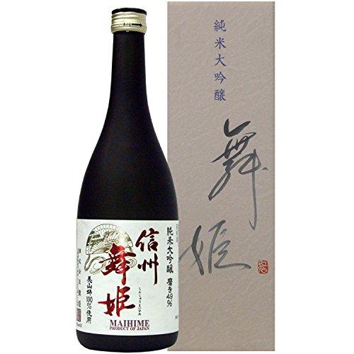 信州舞姫 純米大吟醸原酒 美山錦 磨き49 720ml