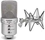 Samson G-Track USB-Studio-Mikrofon + SP 04 Spinne