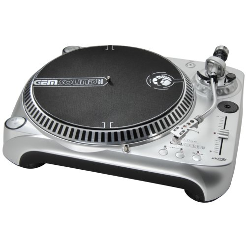 Gem Sound DJ-USB Belt-Drive USB Turntable