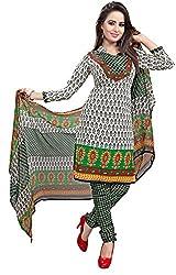 Kimisha Multicolor Crepe Printed Casual wear Dress Material