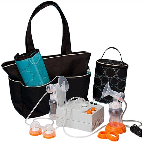 Hygeia EnJoye LBI Breast Pump, Black Bag, QTY: 1