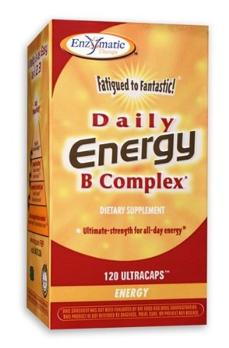 Enzymatic Therapy - Daily Energy B Complex, 120 Capsules