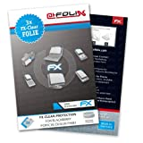 AtFoliX FX-Clear screen-protector for Blackberry Porsche Design P9981 (3 pack) - Crystal-clear screen protection!
