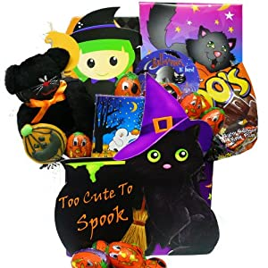 Art of Appreciation Gift Baskets Too Cute to Spook Halloween Chocolate and Candy Tote