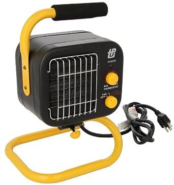 TPI Corporation 178TMC Fan Forced Portable Heater, Ceramic Fan, 1500/850W, 120V