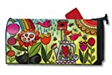 MailWraps Nature Garden Mailbox Cover #01603