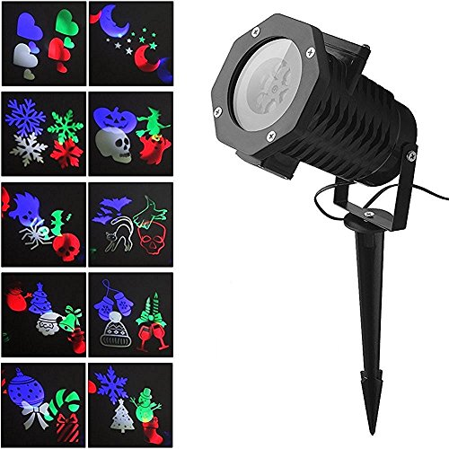 Halloween-Projector-Lights-Auledio-Outdoor-IP65-Waterproof-Snowflake-Landscape-Spotlight-LED-Christmas-Projection-Light-Show-for-Patio-Lawn-Garden-Holiday-and-Halloween-Decorations