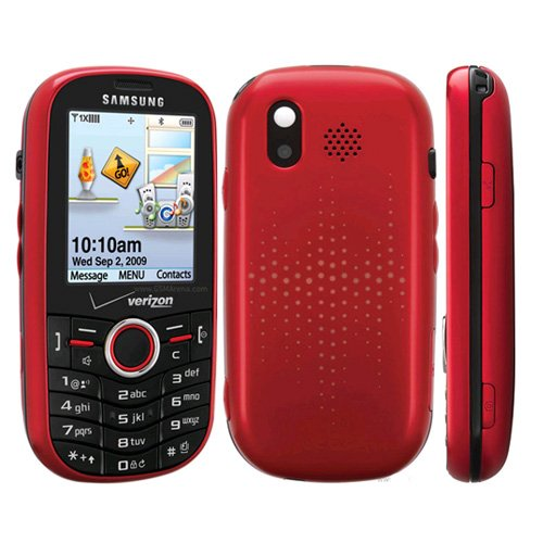 Verizon U450RMOCK Samsung Intensity SCH-U450 Replica Dummy Phone/Toy Phone, Red