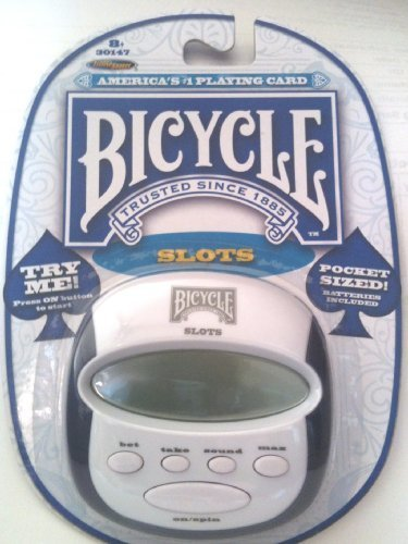 "Bicycle Pocket Slots Game, 3"" x 3"", with Sound Control & Auto Shut Off - 1"