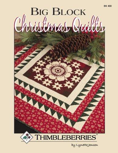 Big Block Christmas Quilts