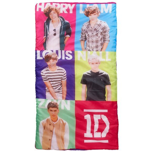 1D Sleeping Bag With Carry Pack - Slumber Bag - One Direction, 30X54In.