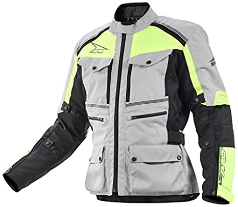 AXO MS6T0135-GY Ford Veste, Taille 4XL, Gris/Jaune
