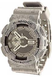 Casio G-Shock GA-110 Slash Patter Luxury Watch - Grey / One Size