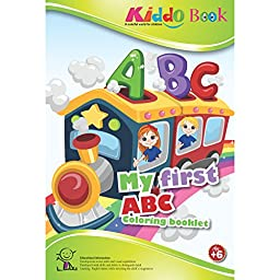 American Educational Products A-4019  My First ABC Booklet for Kiddo