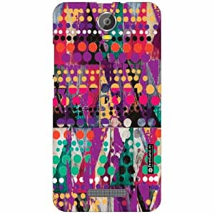 Micromax Canvas Juice 2 Back Cover- Silicon Abstract Art Designer Cases