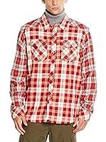 Icepeak Camisa Hombre Jacob (Rojo / Blanco)