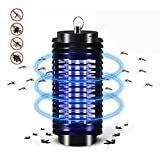 Crystaller Mosquito Killer Lamp,Mosquitoes Bug Zapper Light Lamp,Insect Repeller, Pest Bug Killer Trap, Fly Insect Repellent Lights Lamp UV Trap Lantern ,Home Use Electric Indoors Outdoors