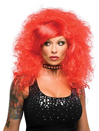 Amazon.com: Rubie's Costume Hot Emo Wig, Red, One Size