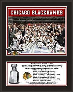 Chicago Blackhawks Sublimated 12x15 Plaque| Details: 2010 Stanley Cup Championship