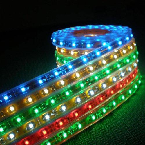 Striscia strip led impermeabile Grundig 2 metri, RGB, con alimentatore a muro e batteria a bottone inclusa, ideale interni/esterni