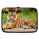Best Stylish Tiger Theme Painting Macbook, Macbook Air 15 Inch Laptop/Notebook Bag(two sides)