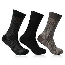 Men's Signature Formal socks in Jacquard Style From Bonjour_1952