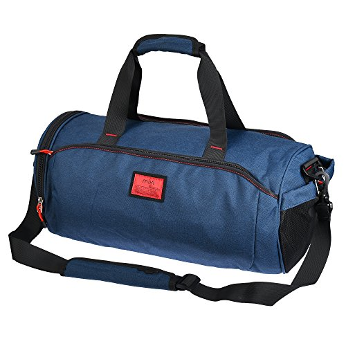 cool-new-madmixi-duffel-style-carry-on-sports-travel-bag-gym-bag-with-shoulder-strap-zippered-compar