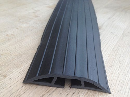 bimi-extra-long-2m-black-rubber-floor-cable-wires-safety-cover