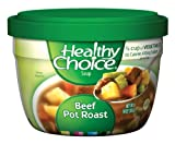 Healthy Choice Beef Pot Roast Soup Microwave Bowl, 14-Ounce Boxes (Pack of 12)
