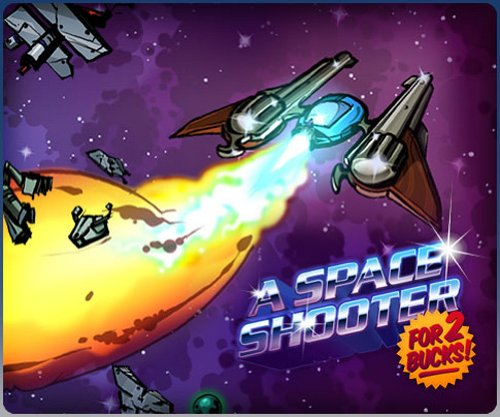 A Space Shooter for 2 Bucks [Online Game Code]