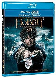 El Hobbit: La Batalla De Los Cinco Ejércitos BD + BD 3D