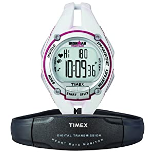 Timex Ironman Road Trainer Digital Heart Rate Monitor Mid-size Women&#39;s