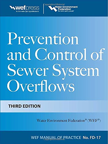 Prevention and Control of Sewer System Overflows, 3e – MOP FD-17