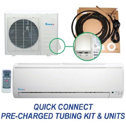 9,000 Btu Mini Split Ductless Air Conditioner Heat Pump  Quick Connect