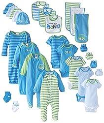 Gerber Baby-Boys Newborn Seriously Cute 26 Piece Gift Set
