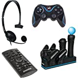 dreamGEAR DGPS3-3864 4-In-1 Starter Pack - PlayStation 3