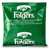 FOLGER'S Coffee Custom Cafe Decaf, 3.4-Ounce Bags (Pack of 50)