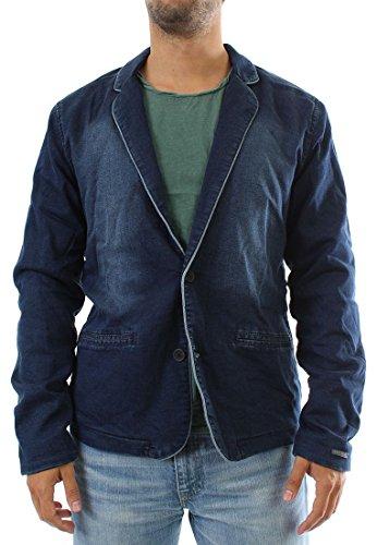 Giappone stracci jeans giacca da uomo - Parvati - Blue blu xxl