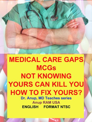Medical Care Gaps MCGs. Not knowing yours can kill you young. How to fix yours?