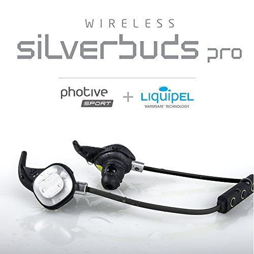 Photive-PH-BTE26-Silverbuds-Pro-Bluetooth-Headset
